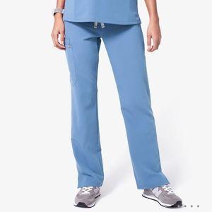 FIGS Kade Ceil Blue Scrub Pants Size M
